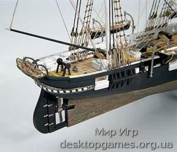 Модель корабля из дерева  Алабама (CSS Alabama) - фото 10