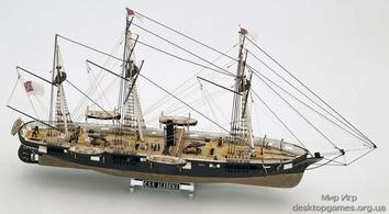 Модель корабля из дерева  Алабама (CSS Alabama) - фото 11