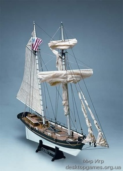 Сборная деревянная модель корабля Alert