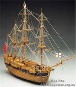 Деревянная модель корабля Эндевор (Endeavour nuova versione 94)