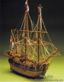 Деревянный корабль Баленера Оландес (Baleniera Olandese)