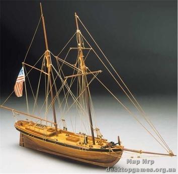 Сборная модель деревянного корабля Ахилл (Achilles)