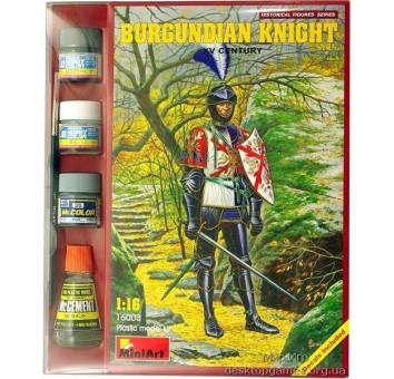 MAset16003 Burgundian knight XV century (фигуры)
