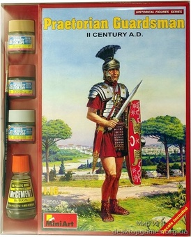 MAset16006 Praetorian guardsman, II century A.D. (фигуры)