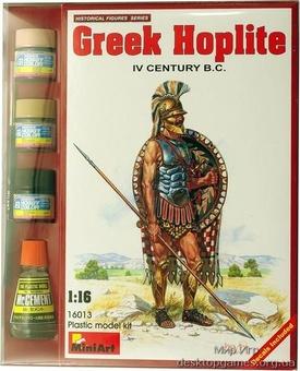 MAset16013 Greek hoplite, IV century B.C. (фигуры)