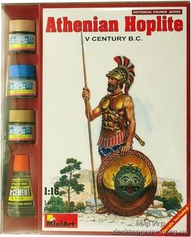 MAset16014 Athenian hoplite, V century B.C. (фигуры)