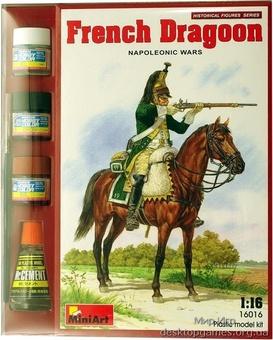 MAset16016 French dragoon, Napoleonic Wars (фигуры)