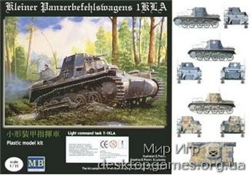 MB3502 T-1KLA German light command tank