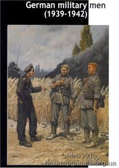 MB3510 German military men, 1939-1942