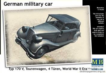 Модель военного автомобиля Тип 170V Tourenwagen