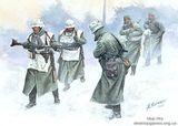 Холодный ветер' Немецкая пехота, зима