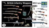 Британское оружие пехоты, Второй Мировой войны