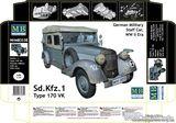 Немецкий штабной автомобиль Sd.Kfz.1 / German staff car Sd.Kfz.1 Type 170 VK