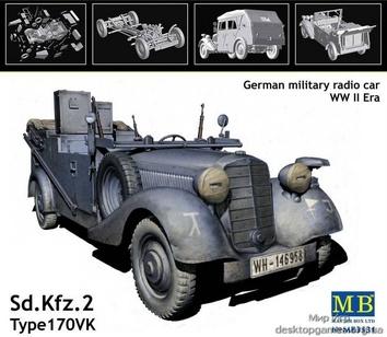 Авто c радиосвязью Kfz.2 Type 170 VK