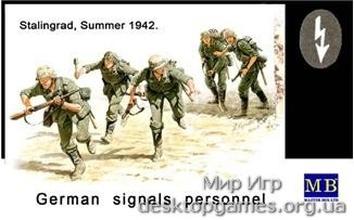 MB3540 German signals personnel, Stalingrad, 1942