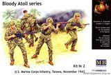 MB3543 «Bloody Atol« US Marine Infantry, Tarawa, 1943