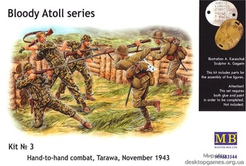 MB3544 «Bloody Atol« Hand-to-hand fight, Tarawa, 1943