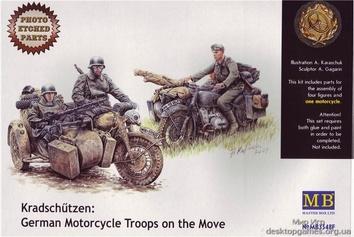 Kradschutzen: Германский мотоциклетный взвод