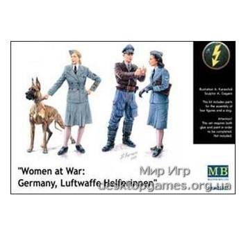 MB3557 Women at War: Germany, Luftwaffe Helferinnen