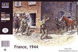 Сборные фигурки людей, Франция 1944
