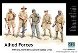 Фигурки пластиковые солдат ОВС НАТО