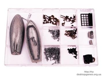 Модель деревянного парусника для склеивания SANTA ANA - фото 18