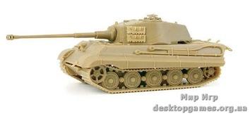 "Тяжелый танк Pz. Kpfz VI Sd Kfz182 ""Королевский тигр"" с башней Хеншель"