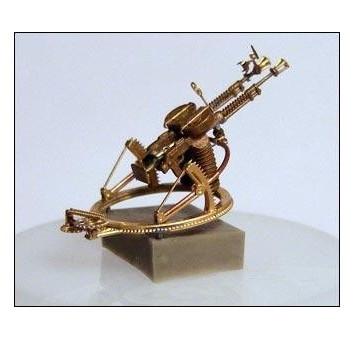 Degtyaryov DA-2 coupled machine-gun on TUR-5 ring mount