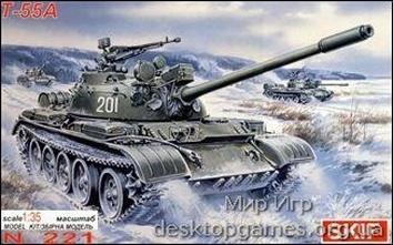 MK221 T-55A Soviet medium tank