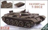 T-55C-2  Favorit  Czech driver training tank