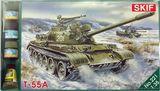 MKset221 T-55A Soviet medium tank (танк)