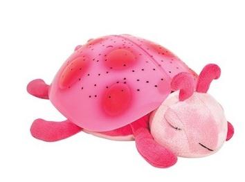 Детский  ночник Розовая Божья Коровка