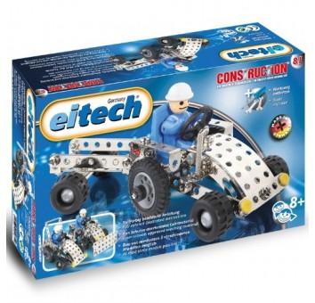 Eitech  Трактор с прицепом
