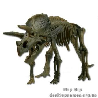 Скелет динозавра Трицератопс