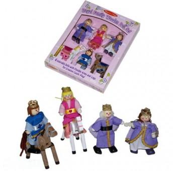 """Деревянные куклы """"Королевская семья"""""""