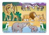 "Safari Peg Puzzle (Пазл ""Угадай африканское животное"")"
