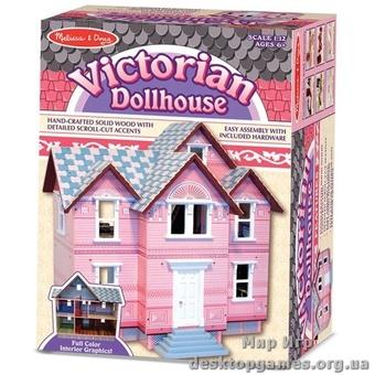 Викторианский кукольный домик