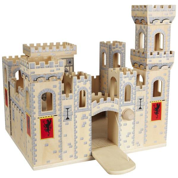 Folding Medieval Castle (Деревянный рыцарский замок)