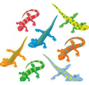 Набор игрушечных ящериц
