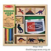 Печати Динозавры
