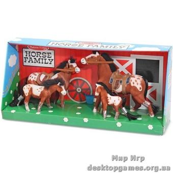 Семейство лошадей