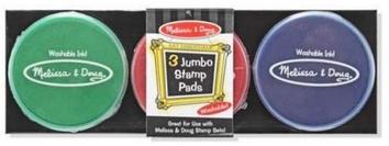 Гигантские чернила для штампов, 3 цвета