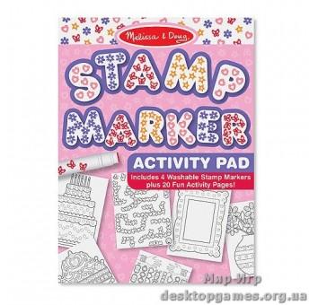 Штампики-маркеры для девочек