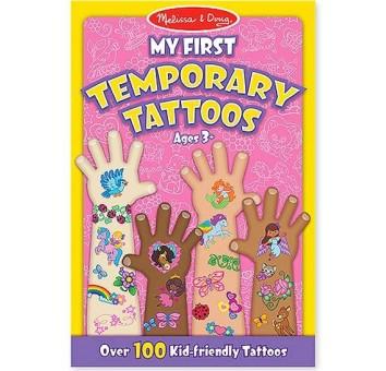 Мои первые временные татуировки, 100 шт. (розовые)