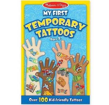 Мои первые временные татуировки, 100 шт. (голубые)