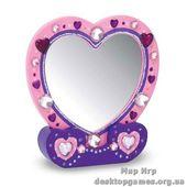 Создай свое Зеркальце-сердечко