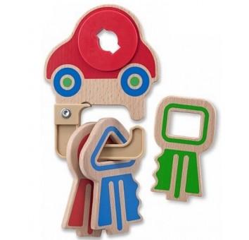 """Деревянная игрушка """"Детские ключики"""""""