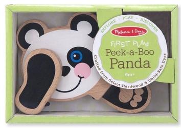 """Деревянная игрушка """"Поиграй в прятки с пандой"""""""