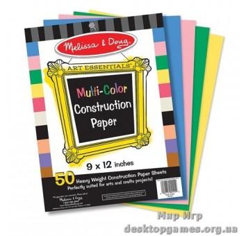 Цветная бумага для аппликаций