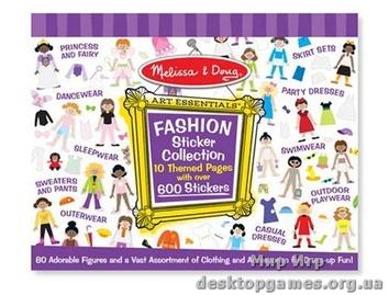 Набор стикеров Мода (600 шт.)